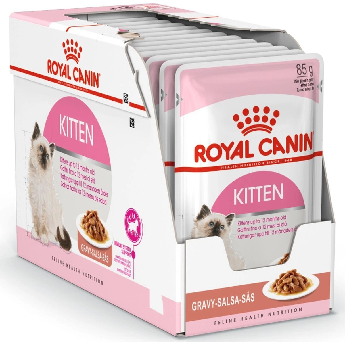 Корм royal canin kitten instinctive 12