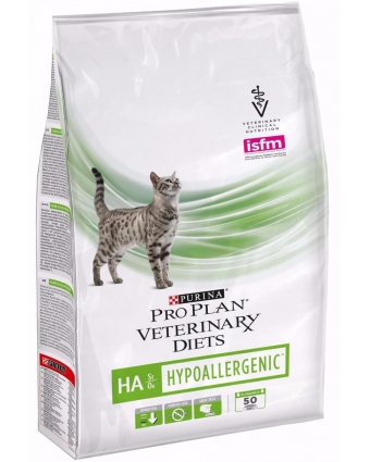 Сухой противоаллергенный корм для кошек Purina (Пурина) Veterinary Diets HA 1,3кг